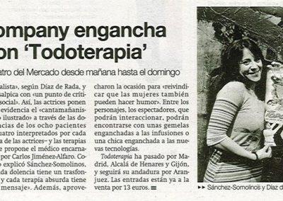 Prensa Todoterapia ZARAGOZA